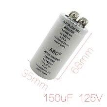 Cylindre 150MFD 125VAC Motor Partir Run Condensateur Nouvelle Remise 50