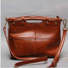 Women Bag 2016 New Fashion Vintage Original Ecological PU Leather Women Handbag Brand Bag Women Shoulder luxury Messenger Bag