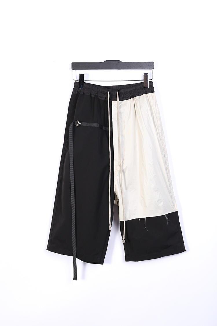 19ss Owen Seak ผู้ชายสบายๆ Harem กางเกง Gothic เสื้อผ้าผู้ชาย Sweatpants ฤดูร้อนผู้หญิงลูกวัวความยาวกางเกงหลวมสีดำกางเกงขนาด XL-ใน กางเกงฮาเร็ม จาก เสื้อผ้าผู้ชาย บน   1