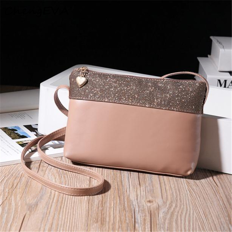 ChengEVA 1PC Hot Sale Attractive Elegant font b Women b font Leather Shoulder font b Bag