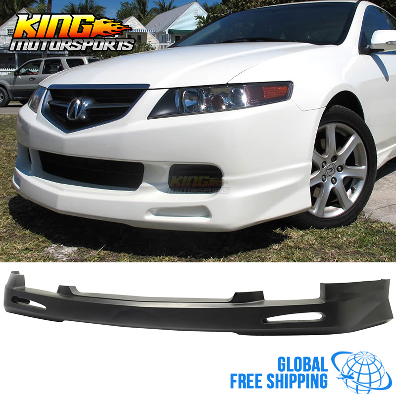 For 04 05 Acura Tsx Jdm Style Poly Urethane PU Front