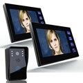 freeship by DHL 7 inch door intercom Rainproof Door Phone camera Door Monitor  Video Intercom Monitor for Home intercom door