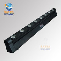 2013 NEW 10W 8PCS4IN1 Cree LED Moving Head Beam Bar Light LED Eight Beam Light DMX