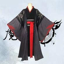 Wei Wuxian Cosplay Mo Xuanyu Kostuum Anime Grootmeester Van Demonische Teelt Cosplay Mo Dao Zu Shi Kostuum Mannen