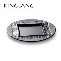 KINGLANG 중국어 디자인 돈 플레이트 좋은 의미 접시 좋은 품질 특별 선물 kaiteen 사용