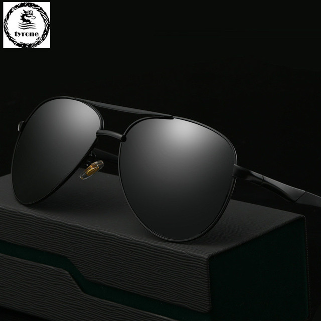 TYRONE 2016 hot sale Men High Quality Polarized Brand Driving Sunglasses sun glasses UV 400 Fashion Eye Wear with Box FREE SHIP