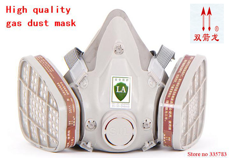 High quality antivirus respirator mask general carbon filter mask pesticides paint welding spray anti pollution face mask цена 2017
