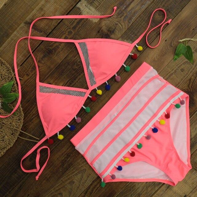 High Waist Bikini Lacey 5