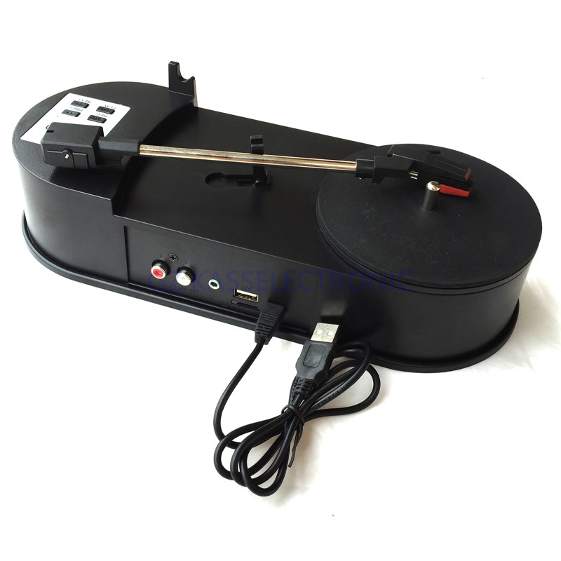 ФОТО 2017 new portable turntable vinyl convert vinyl to mp3 in U driver , no PC required, Free shipping