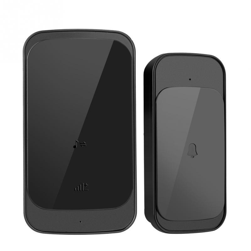 110 240v 280m Wireless Doorbell Slim Remote Control