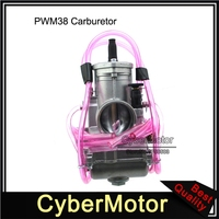 PWM 38mm Carburetor Carb For 125cc 140cc 150cc 160cc 200cc 250cc 2 Stroke Racing PWM38 Carb Scooter Moped ATV Quad Motorcycle