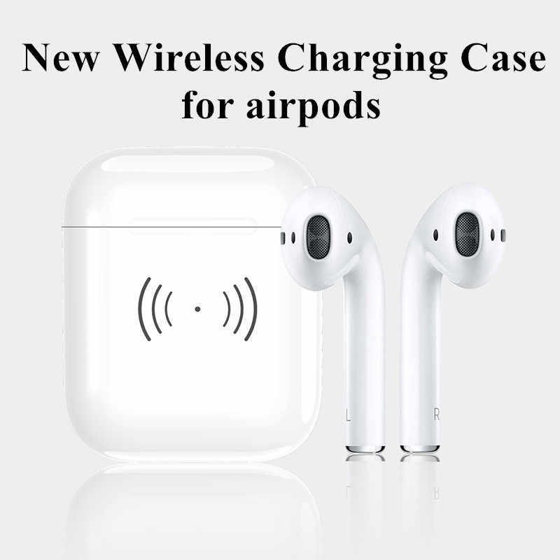 bd801f7f5c4 New Wireless Charging Case Box for Airpods Bluetooth Headset Charging Base  Box for Apple Airpods
