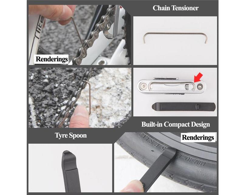 Bicycle 13in1 Multi Repair Tool Kit