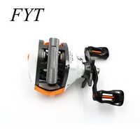 Size LP200 13 Bearings Waterproof Left / Right Hand Baitcasting Fishing Reel High Speed Fishing Reel with Magnetic Brake System