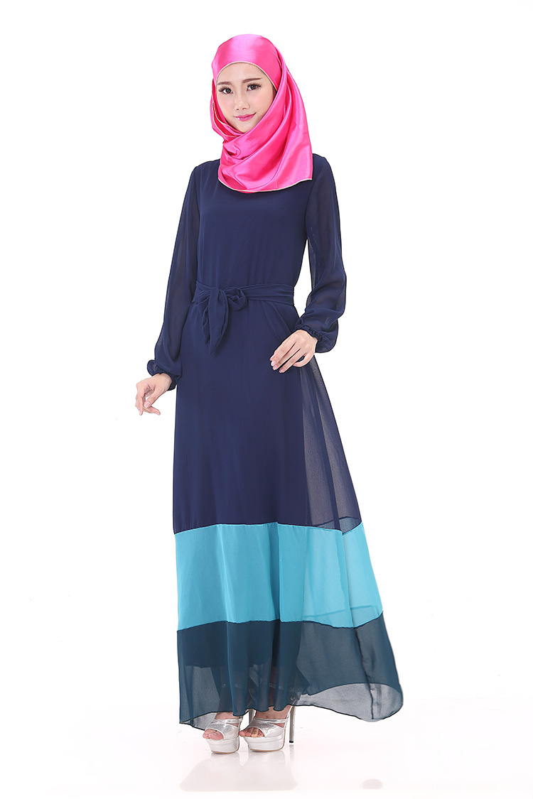Muslim Women Dress Fashion Dresses Anneyep Printed Flowers Kaftan Maxi