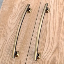 128mm vintage bronze kitchen cabinet dresser door handles antique brass drawer pulls knobs retro wardrobe door handles 5″ ABH
