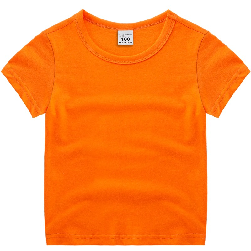 HTB1FCItX8Kw3KVjSZTEq6AuRpXaD - VIDMID boys girls short sleeve t-shirts clothes kids cotton summer tops t-shirts clothing boys girls solid tees tops 7060 07