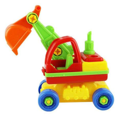 Child Baby Disassembly Assembly Cartoon Car Toy Kids Xmas Gift New Model:Excavator