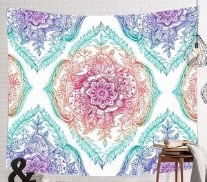 Image 2 - CAMMITEVER Raum Starry Sky Sternenlicht Wandteppich Hängen Multifunktionale Tapisserie Boho Gedruckt Bettdecke Abdeckung Yoga Matte