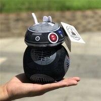 1 peça de star wars 8 nova BB-9E robô Brinquedos de Pelúcia Boneca Para as crianças Presentes de aniversário & star wars fãs coleção brinquedos boneca