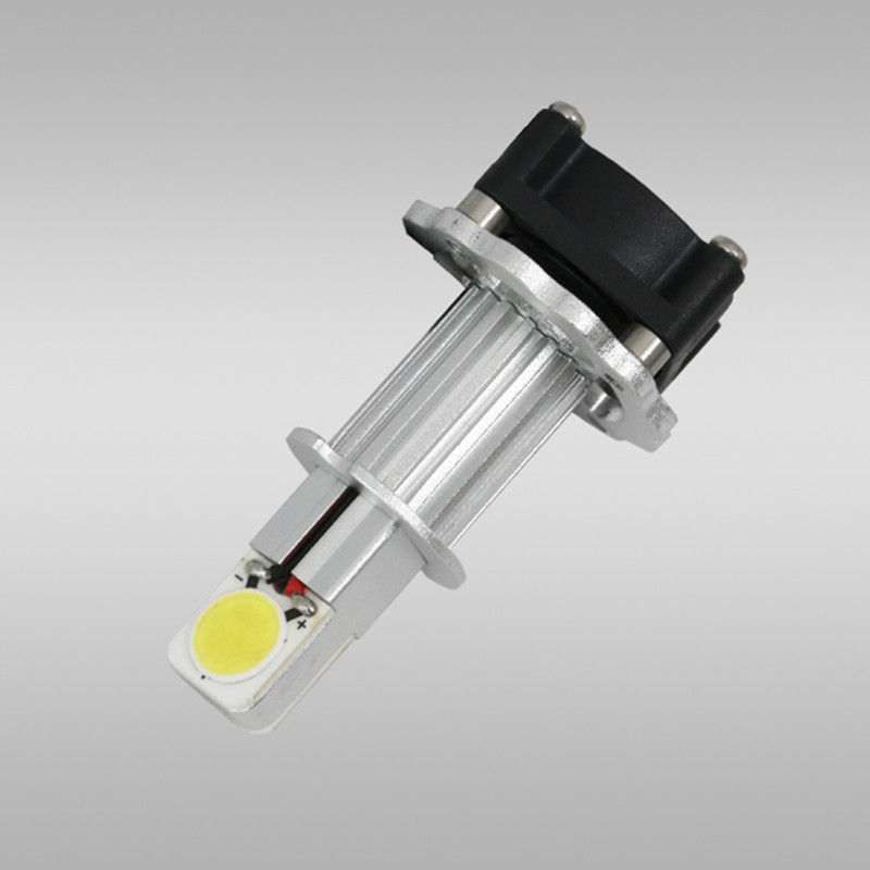 ФОТО Hot 2 pcs/set CREE 30W auto parts super bright automotive LED Head lamp car light bulbs H3 A-series Headlight conversion Kits