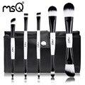 Envío Libre MSQ 5 unids Pelo Sintético Pinceles de Maquillaje Set Herramientas Maquiagem Cosméticos Doble Final + Bolsa de Cepillo de Alta Estándar para el Sector Minorista