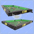 Giant Pool  Soccer Table, Snooker Pool Table Inflatable, Inflatable Snookball Pool Soccer Table with 16 pcs of snook ball