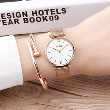 2019 Rose Gold Watches Women Fashion Watch Steel Quartz Wristwatches Ladies Top Luxury Brand Casual Waterproof Mesh Band Watches цена и фото