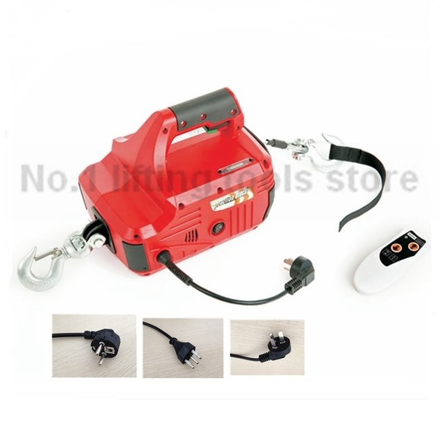 450 kg 220 volt electric wire puller with remote-in Lifting Tools ...