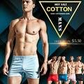 Sexy Mens Underwear Boxer Trunks Gay Bolsa ropa de Dormir En Casa de Alta Calidad Marca Hombre Ropa Interior Boxer Shorts ropa de Dormir rinoceronte