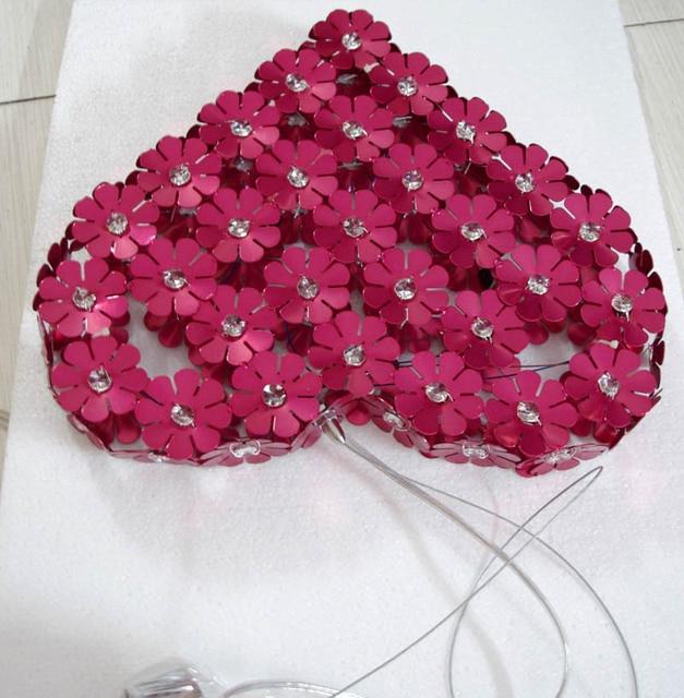 Lamp Lamps Pendant Light Bedroom Lamp Aluminum Light Romantic Plum Blossom Lamp  Red Light Ceremonized
