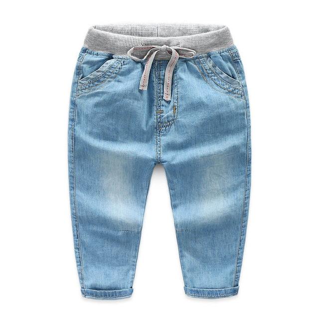 2-7y Jungen Jeans Kinder Hosen Mode Kinder Jungen Jeans Hosen Kinder Denim Hosen Hosen Baby Casual Hosen Für Jungen Kleidung