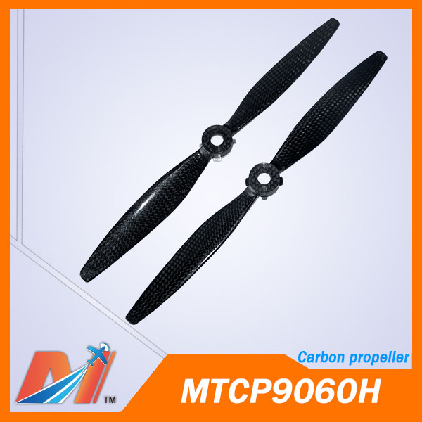 Maytech 3pair 6pcs 9 0x 6 0inch rc propeller with carbon material for Typhoon H Yuneec