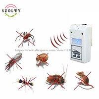 Venda quente repelente de pragas ajuda controle eletrônico máquina ultrassom animal repeller 110 v/220 v|Repelentes|Casa e Jardim -