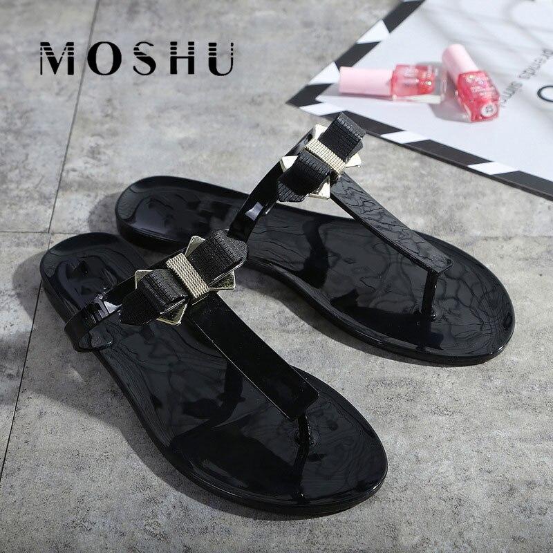 Femmes Pantoufles D'été Sandales Diapositives Papillon Noeud Plage Pantoufles Flip Flops Frange Féminine Casual Chaussures