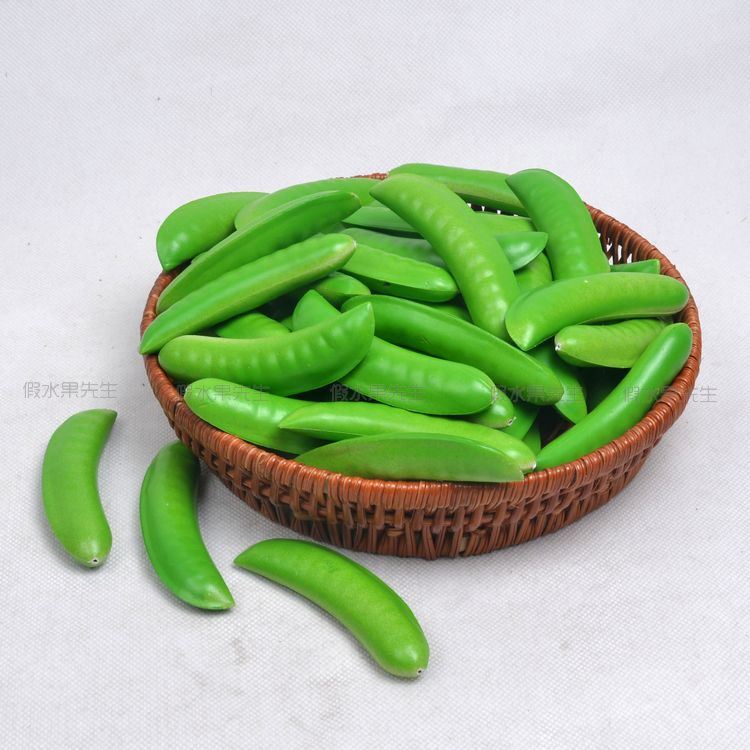 Simulation Beans False Lentils Peas Ambry Hotel Bar Decoration Accessories Plastic Model Simulation Vegetables False Fruit 20pcs