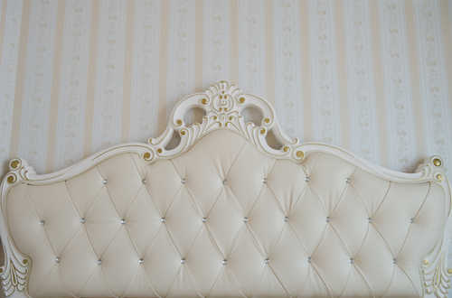 HUAYI HUAYI baroque bed headboard tufted bed photography backdrop  art fabric photo studio background wallpaper D-7329