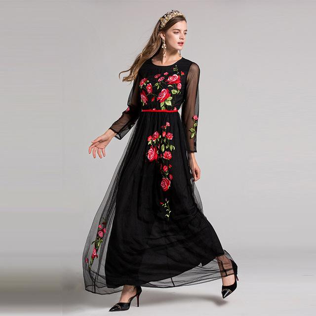 Fashion Runway Maxi Dresses