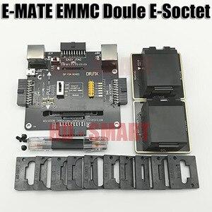 Image 4 - E メイトボックス emate ボックスダブル e ソケットサポート BGA153 、 169,162,186,221,529,100,136,168,254 ufi ボックス、メデューサ簡単 jtag ボックス