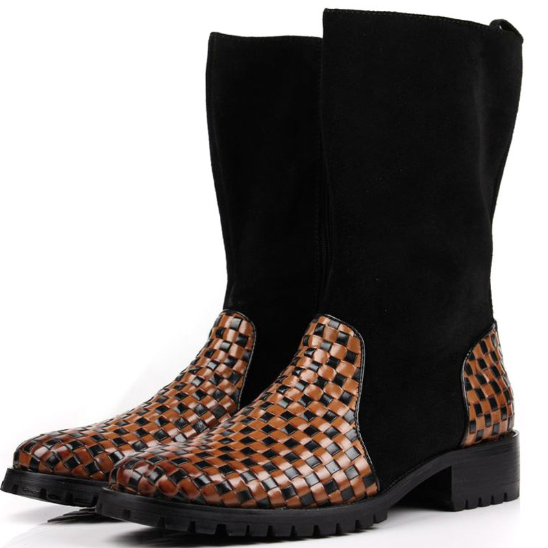 Popular Mens Leather Tall Boots Buy Cheap Boots Lots