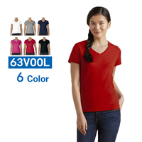 Plain 100 Cotton T Shirt Women Solid Basic Tshirt Woman Tops Casual Short Sleeve T Shirt