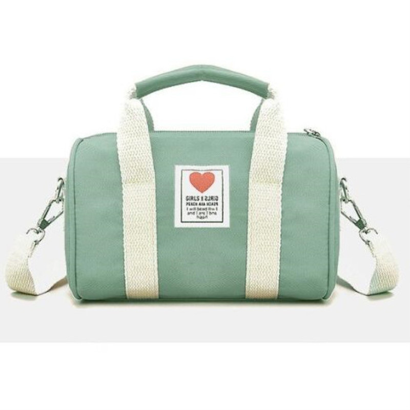 Children's Gym Bag Folding Portable Duffel Storage Fitness Shoulder Bag Mini Messenger Bag Girls Handbag Training Bags