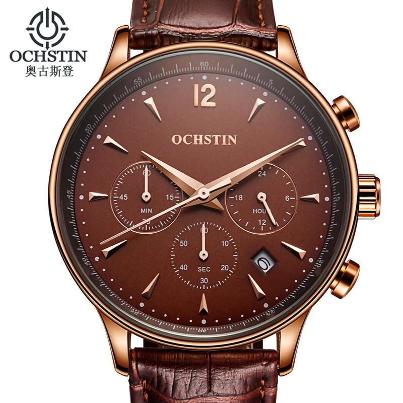 OCHSTIN Relojes de lujo para hombres Reloj de cuarzo para hombres - Relojes para hombres - foto 4