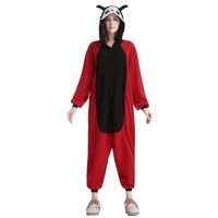 Winter Tier Erwachsene Unisex marienkäfer Onesies Pyjama Sete Pyjama Cosplsy Kostüme