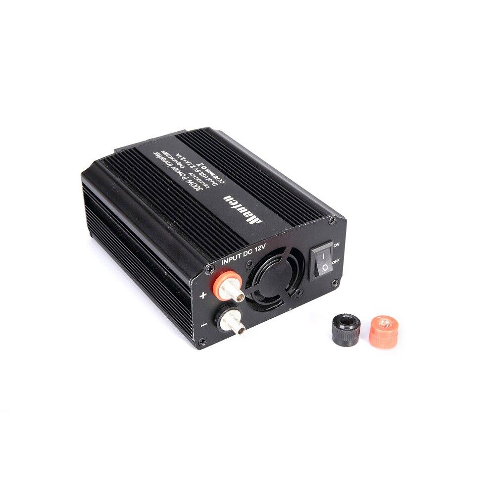Image 2 - 300W Power Inverter 12V to 220V Car Inverter Cigarette Lighter Socket and 2 Clips 12v 220v Inverter with Dual USB Ports-in Car Inverters from Automobiles & Motorcycles