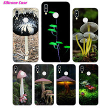 Silicone Case Mushroom anime for Huawei P Smart 2019 Plus P30 P20 P10 P9 P8 Lite Mate 20 10 Pro Lite Nova 3i Cover все цены