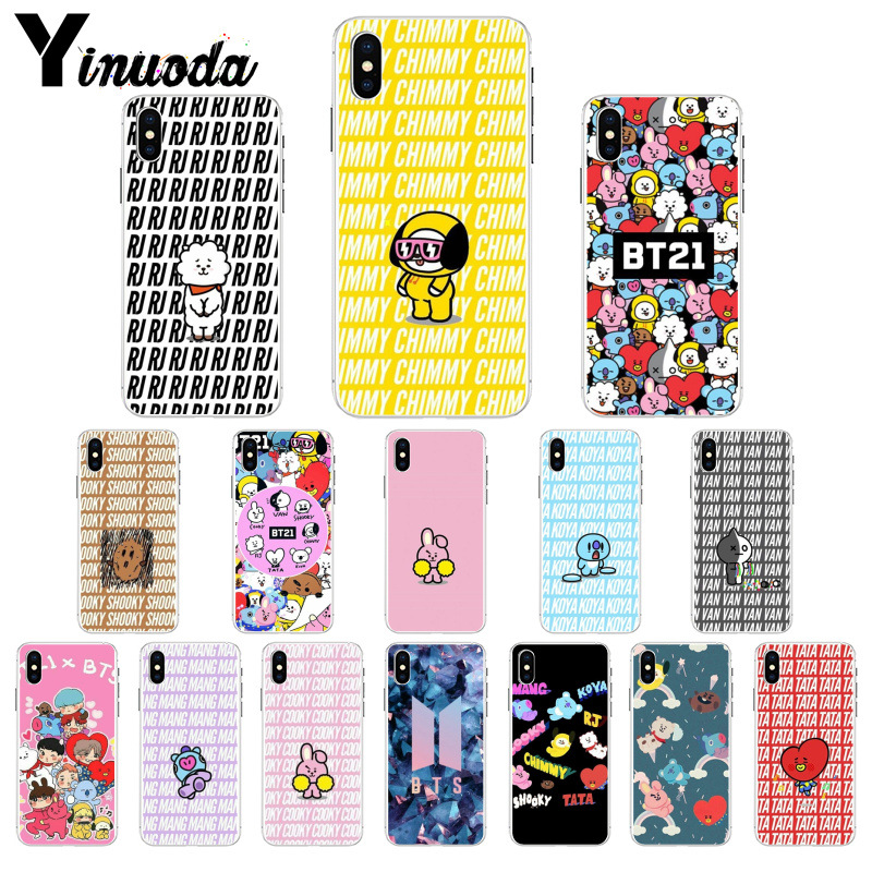 Cellphones & Telecommunications Yinuoda Sunshine Handsome Boy Bts Novelty Fundas Phone Case Cover For Apple Iphone 8 7 6 6s Plus X Xs Max 5 5s Se Xr Cover Half-wrapped Case