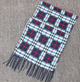 2015 fashion designer Men Classic Cashmere Scarf Winter Warm Soft Fringe Striped Tassel Shawl Wrap striped scarf men scarves