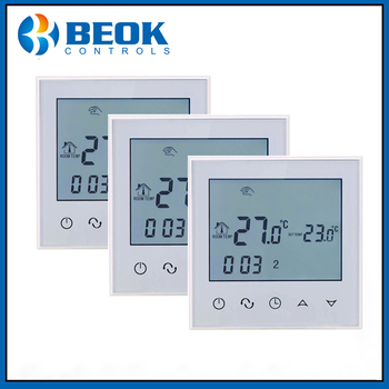 Beok TDS21-EP 3 PCS Electric Floor Heating Room Touch Screen Thermostat Warm System 220V Thermoregulator - discount item  20% OFF Measurement & Analysis Instruments