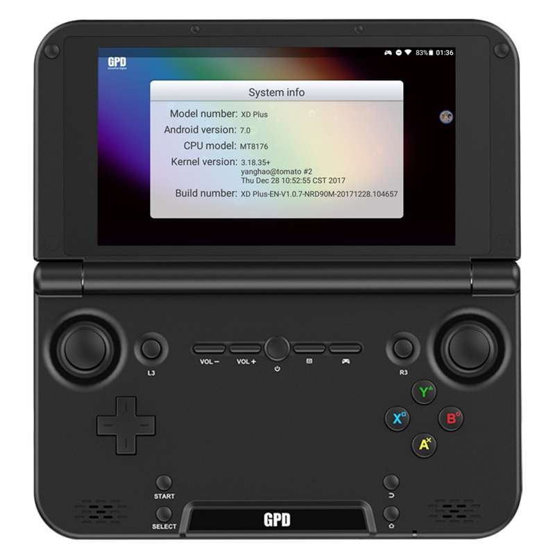 Gpd Xd Plus Gamepad Tablet Pc Mt8176 5 Inch 1280 X 720 Handheld Game Pc 4Gb Ram 32Gb Ips H-Press Screen For Android/Linux Eu P